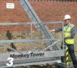 Monkey Tower - pulling ladder